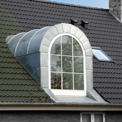 Dormer window of a house, Denmark, Europe; Shutterstock ID 77828227; Purchase Order: -